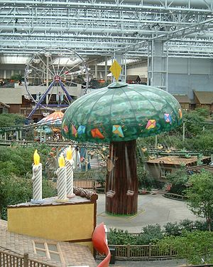 Kite-Eating Tree - The Kite-Eating Tree was an attraction at Camp Snoopy in the Mall of America before the rebrand in 2006.