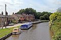 Canal boats, Leeds and Liverpool Canal, Appley Bridge (geograph 4531276).jpg