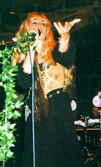Candice Night - in Heidelberg, Germany, 2002