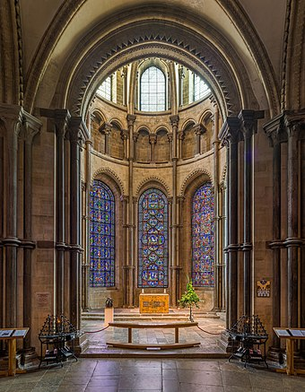 Becket's crown at the far east side of the cathedral Canterbury Cathedral Becket's Crown, Kent, UK - Diliff.jpg