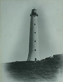 King Island-History-Cape Wickham Lighthouse 1887