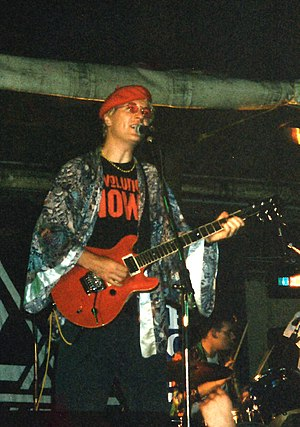 Captain Sensible - Playing live in Abergavenny in 1994