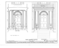 Captain Barnes House, 218 Islington Street, Portsmouth, Rockingham County, NH HABS NH,8-PORT,124- (sheet 17 of 65).png
