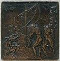 Caradosso, scena della Gomena di Plauto, 1485 circa.JPG