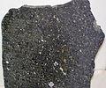 Carbonaceous chondrite (Allende Meteorite) (4.560-4.568 Ga) 6 (16763228023).jpg