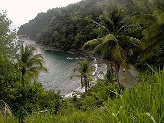 Saint David Parish, Dominica - Carib Territory coast