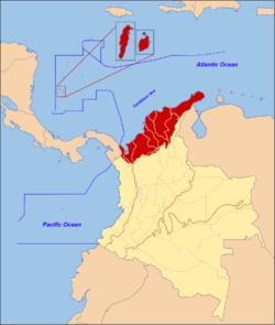 Caribbean region of Colombia Wikipedia