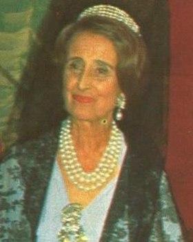 Carmen Franco en 1972.