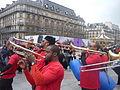 Carnaval des Femmes 2015 - P1360820 - Place de l'Hôtel-de-Ville.JPG