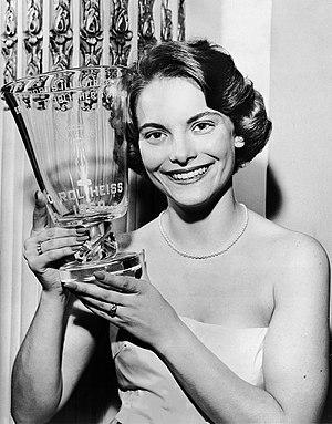 Carol Heiss - Carol Heiss in 1960