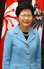 carrie lam defends chinese minister