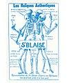 """Carte Postale """"Les Reliques Authentiques"""".jpg"""