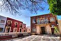 Casa Consistorial y Plaza de la Constitución de Rioja (Almería).jpg