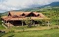 Casa de troncos con vista al volcán Platanar (1240781509) Quesada, Alajuela, Costa Rica.jpg