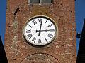 Castelfranco di sotto, porta san piero a vigesimo 02 orologio.JPG