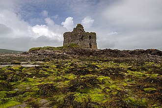 Ballinskelligs Castle - Ruins of Ballinskelligs Castle.