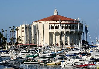 Santa Catalina Island (California) - The Catalina Casino as it appeared in 2007