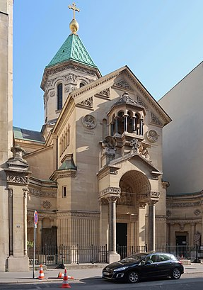 How to get to Cathédrale arménienne Saint-Jean-Baptiste with public transit - About the place