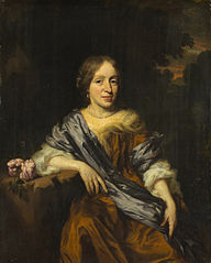 Portrait of Catharina Pottey (1641-1718), sister of Willem and Sara Pottey