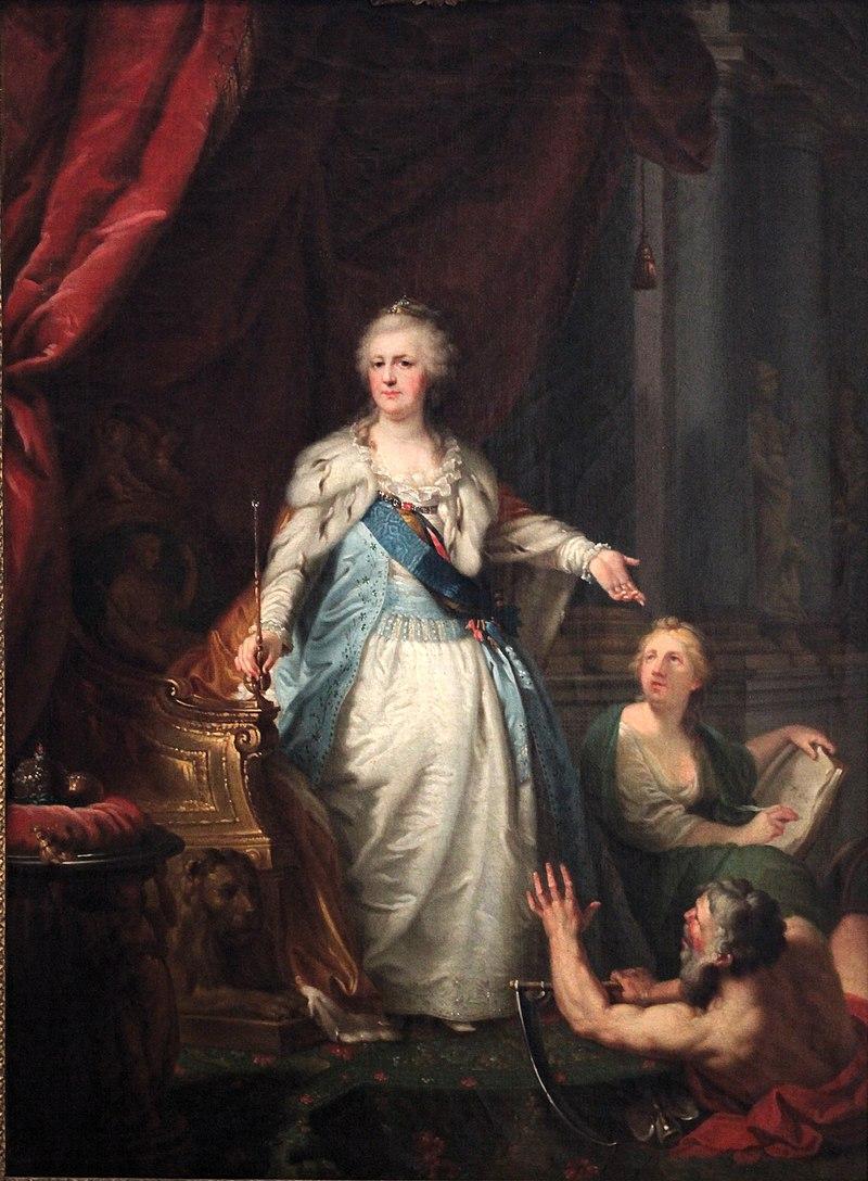 Екатерина II - JBLampi (1792-3, Chateau Vizille) .jpg
