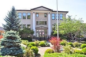 Cathlamet, WA - Wahkiakum County Courthouse 01.jpg