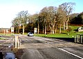 Cattle Grid at the start of the Pant St Brides Road - geograph.org.uk - 286181.jpg