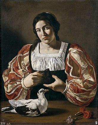 Cecco del Caravaggio - Image: Cecco Woman
