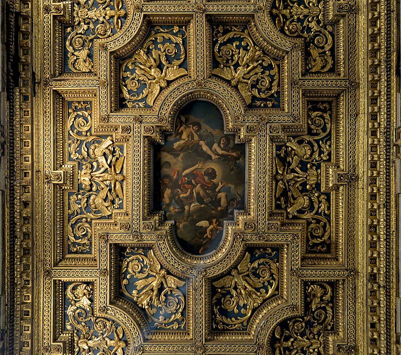 Ceiling of San Crisogono (Rome).jpg