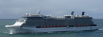 Solstice-class cruise ship - Image: Celebrity Silhouette San Juan