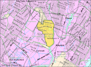 Census Bureau map of Little Ferry, New Jersey.png