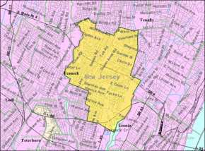 Census Bureau map of Teaneck, New Jersey.png