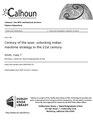 Century of the seas- unlocking Indian maritime strategy in the 21st century (IA centuryofseasunl1094556178).pdf
