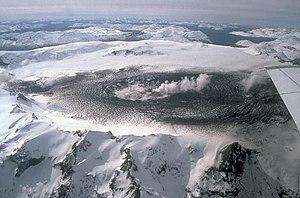 Cerro Azul (Chile volcano) - Image: Cerro hudson