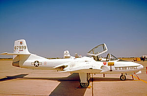 559th Flying Training Squadron - Cessna T-37Bs of 559 FTS at Randolph AFB, Texas, in 1975