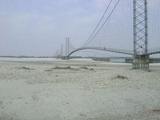 Dodhara Chandani Bridge Longest suspension bridge of Nepal