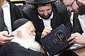 Chaim Kanievsky חידושי הגאון מסוסנוביץ מראה הרב יונתן שטנצל עבור הגאון רבי חיים קנייבסקי.JPG