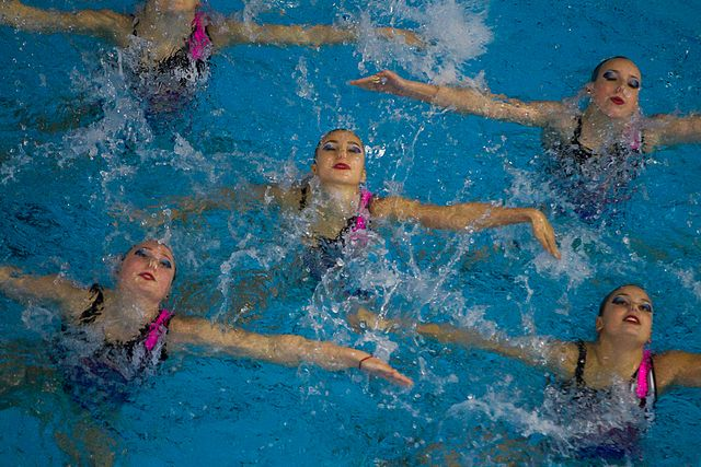 Championship of the North-West Federal District in synchronized swimming (2016-10-20) 11.jpg