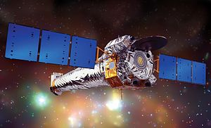 Chandra X-ray Observatory - Illustration of Chandra