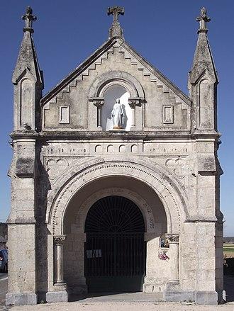 Adé, Hautes-Pyrénées - Image: Chapelle du Rosaire (Adé, Hautes Pyrénées, France)