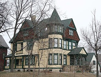 National Register of Historic Places listings in Milwaukee - Image: Charles Abresch House Jan 2013