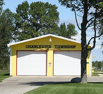 Charlevoix Township, Michigan - Township Fire Station