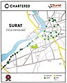 Chartered Bike Surat map of station.jpg