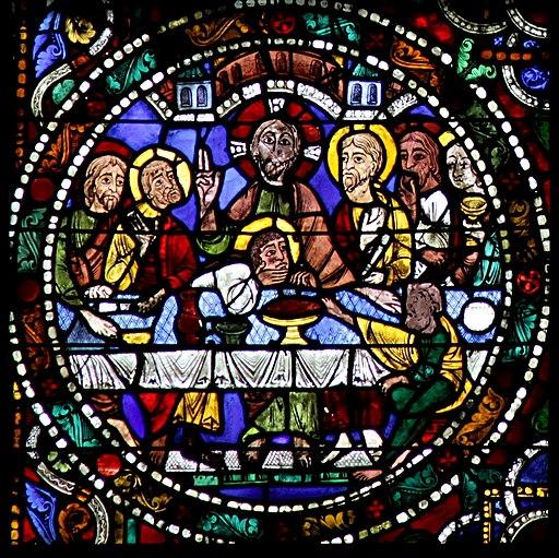 Chartres-051 - b1 - Cène