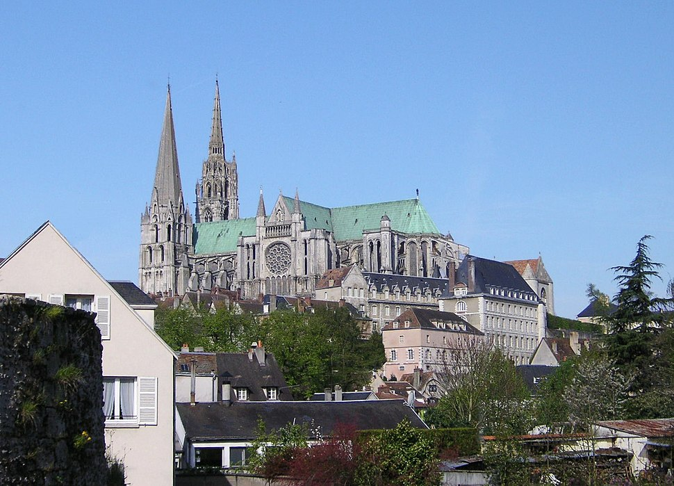 Chartres Cathedral 000 sky