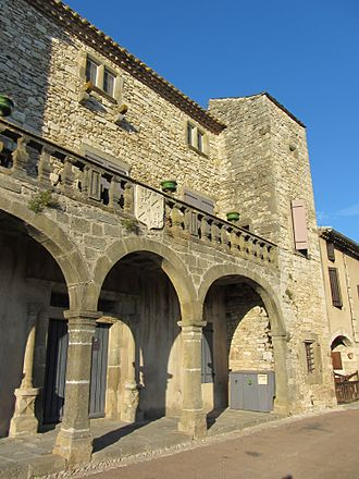 Aragon, Aude - The Chateau