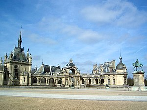 Chantilly, Oise - Château de Chantilly