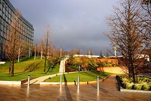 Economy of Liverpool - Chavasse Park, located on the waterfront by Liverpool One