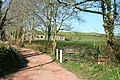 Cheriton Fitzpaine, entrance to Leys - geograph.org.uk - 364346.jpg