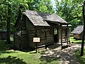 Cherokee Heritage Center - Log Cabin (2015-05-27 14.03.37 by Wesley Fryer).jpg
