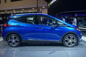 Chevrolet Bolt - Lateral view of the Bolt EV